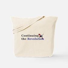 Continuing the Revolution Tote Bag