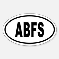 ABFS Oval Decal