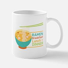 Breakfast Lunch & Dinner Mugs