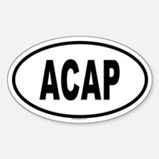 ACAP Oval Decal