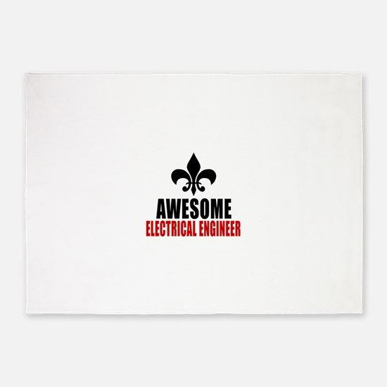 Awesome Electrical engineer 5'x7'Area Rug
