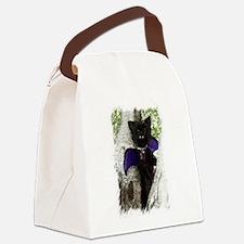 Vampire Dog Canvas Lunch Bag
