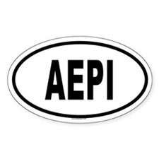 AEPI Oval Decal