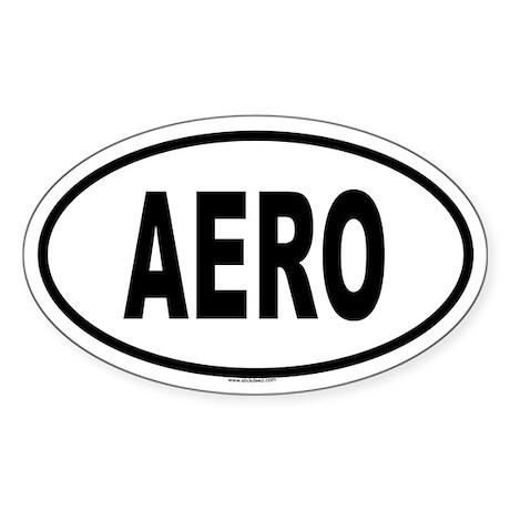 AERO Oval Sticker