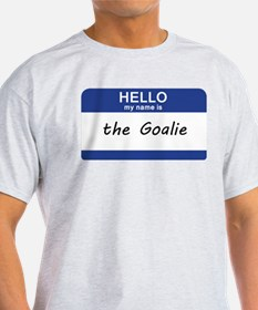 Hello my name is Goalie Women's Cap Sleeve T-Shirt