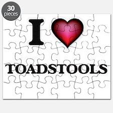 I love Toadstools Puzzle