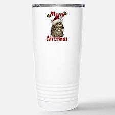 Cute Happy holidays Travel Mug