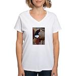 Ringtail Pheasant Women's V-Neck T-Shirt