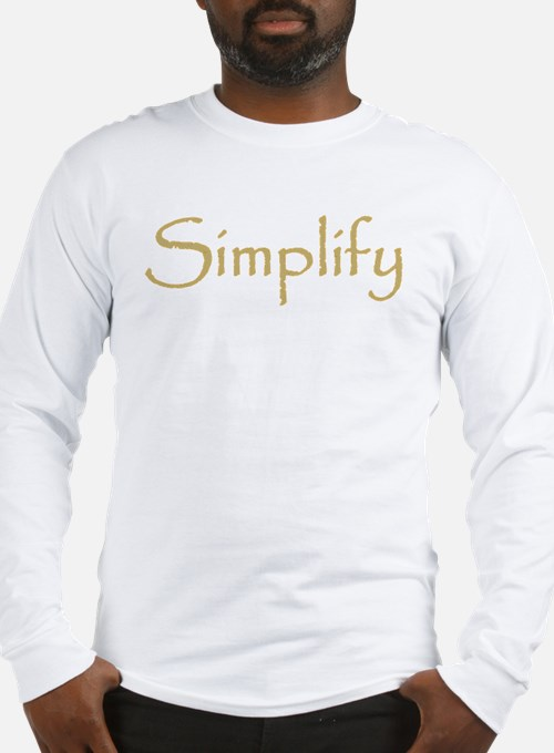 Simplify Long Sleeve T-Shirt