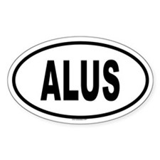 ALUS Oval Decal