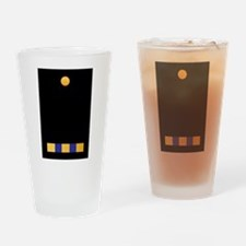 W-3 CWO3 Chief Warrant Officer Drinking Glass