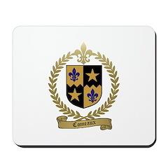 COMEAUX Family Crest Mousepad