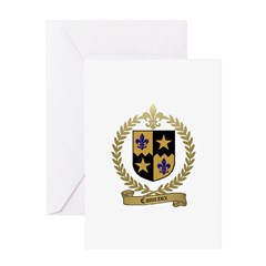COMEAUX Family Crest Greeting Card
