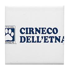 CIRNECO DELLETNA Tile Coaster