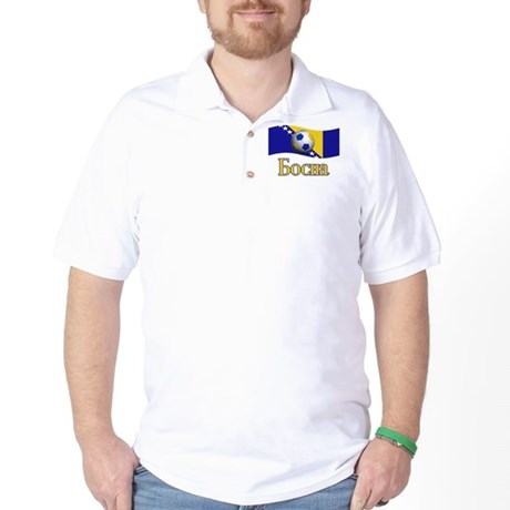 TEAM BOSNIA IN BOSNIAN Golf Shirt