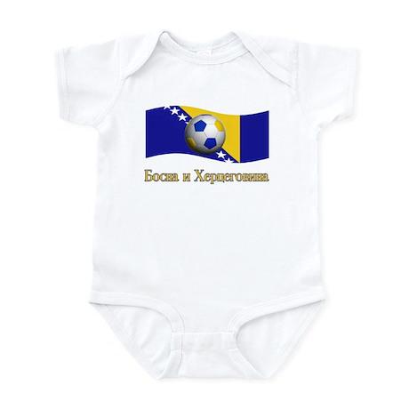 TEAM BOSNIA HERZEGOVIA BOSNIA Infant Bodysuit