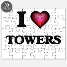 I love Towers Puzzle