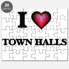 I love Town Halls Puzzle
