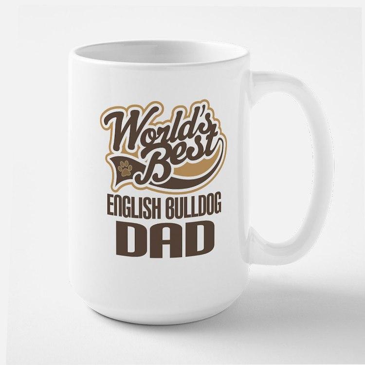 English Bulldog Dad Mugs