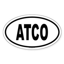 ATCO Oval Decal