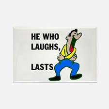 LAUGHTER Rectangle Magnet