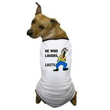 LAUGHTER Dog T-Shirt