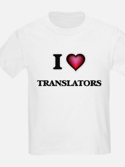 I love Translators T-Shirt