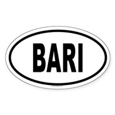 BARI Oval Decal