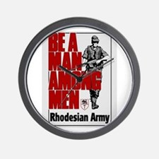 Be A Man Among Men Wall Clock
