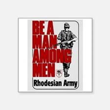 Be A Man Among Men Sticker