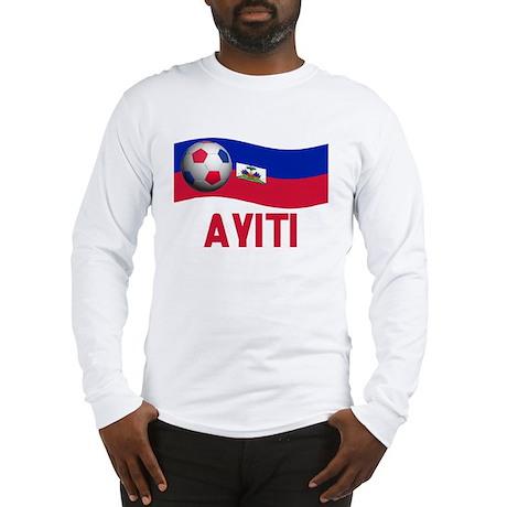 TEAM AYITI IN CREOLE Long Sleeve T-Shirt
