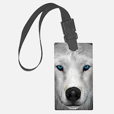 Arctic Wolf Luggage Tag