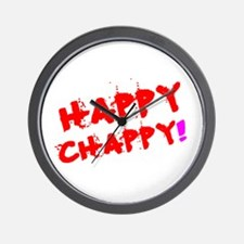 HAPPY CHAPPY! Wall Clock