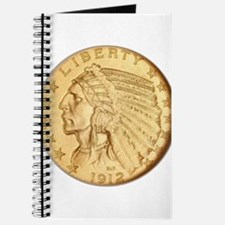 US Gold Coin Indian Head Journal
