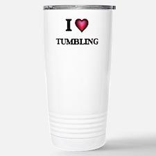 I love Tumbling Stainless Steel Travel Mug