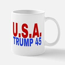 U.S.A. TRUMP 45 Mugs