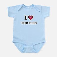 I love Turtles Body Suit