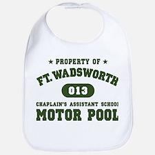 WadsworthGREEN2 Baby Bib