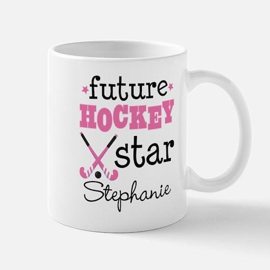 Future Field Hockey Star Personalized Mugs