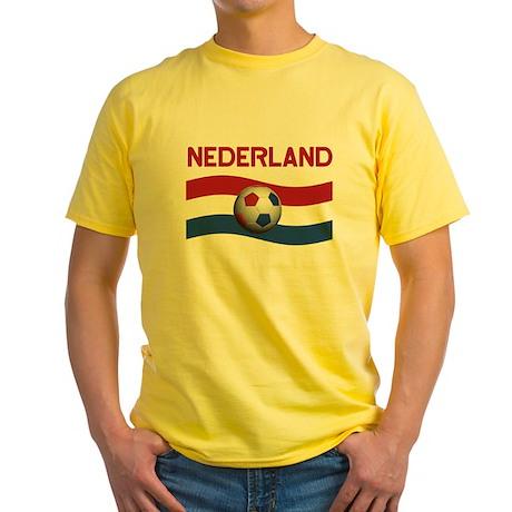 TEAM NEDERLAND DUTCH Yellow T-Shirt