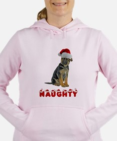 Naughty German Shep... Sweatshirt