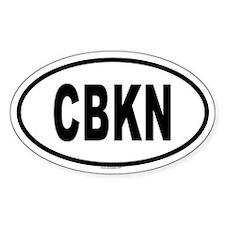 CBKN Oval Decal