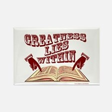 Greatness Lies Within Magnet