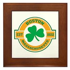 Boston Irish Framed Tile