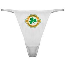 Boston Irish Classic Thong