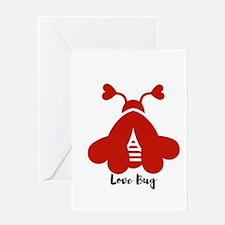 Love Bug Greeting Cards