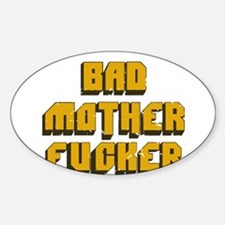 bad mother fucker - pulp fiction t-shirt Decal