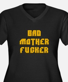 bad mother fucker - pulp fiction t-shirt Plus Size