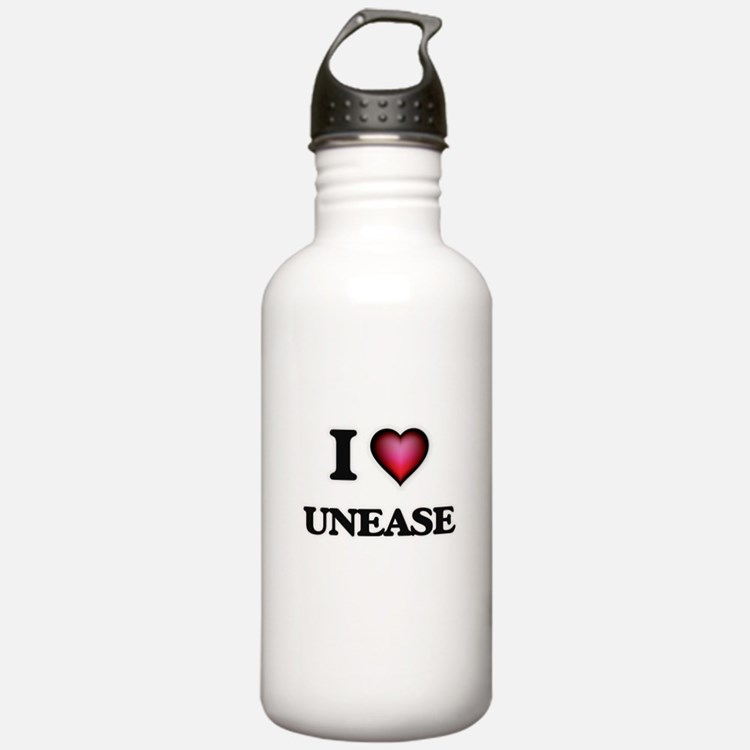I love Unease Water Bottle
