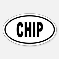CHIP Oval Decal